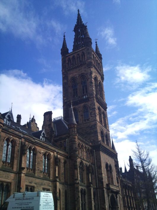 Gilmorehill Campus, the University of Glasgow